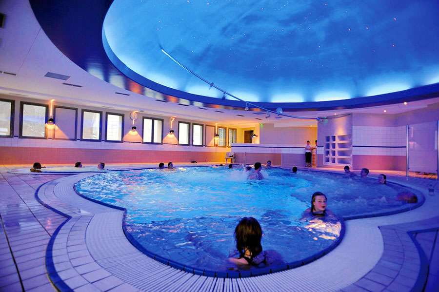 Le spa thermal de Barèges : Cieléo