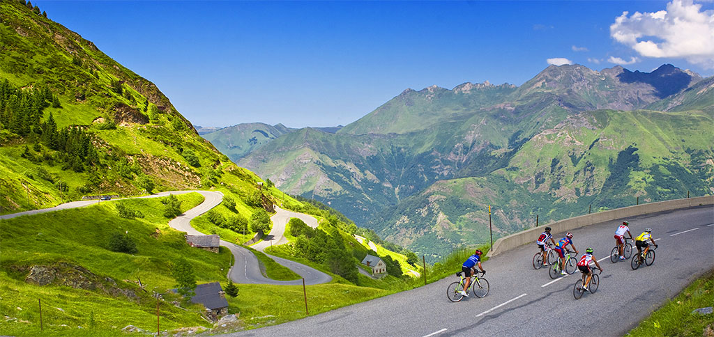 Le vélo et le VTT parmi les activités de plein air sur Luz-Saint-Sauveur